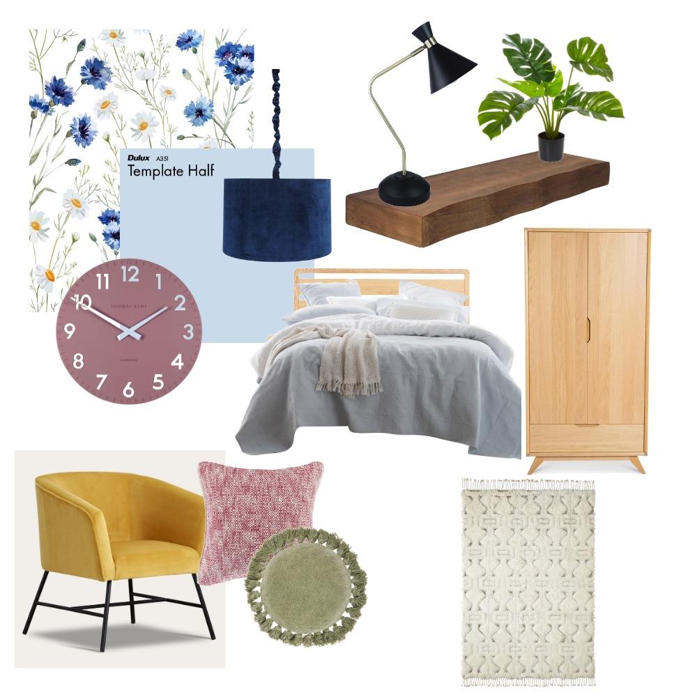 Jacks Bedroom Interior Design Mood Board by JasmineDesign on Style Sourcebook