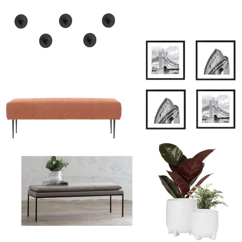Renko Entryway Interior Design Mood Board by Williams Way Interior Decorating on Style Sourcebook