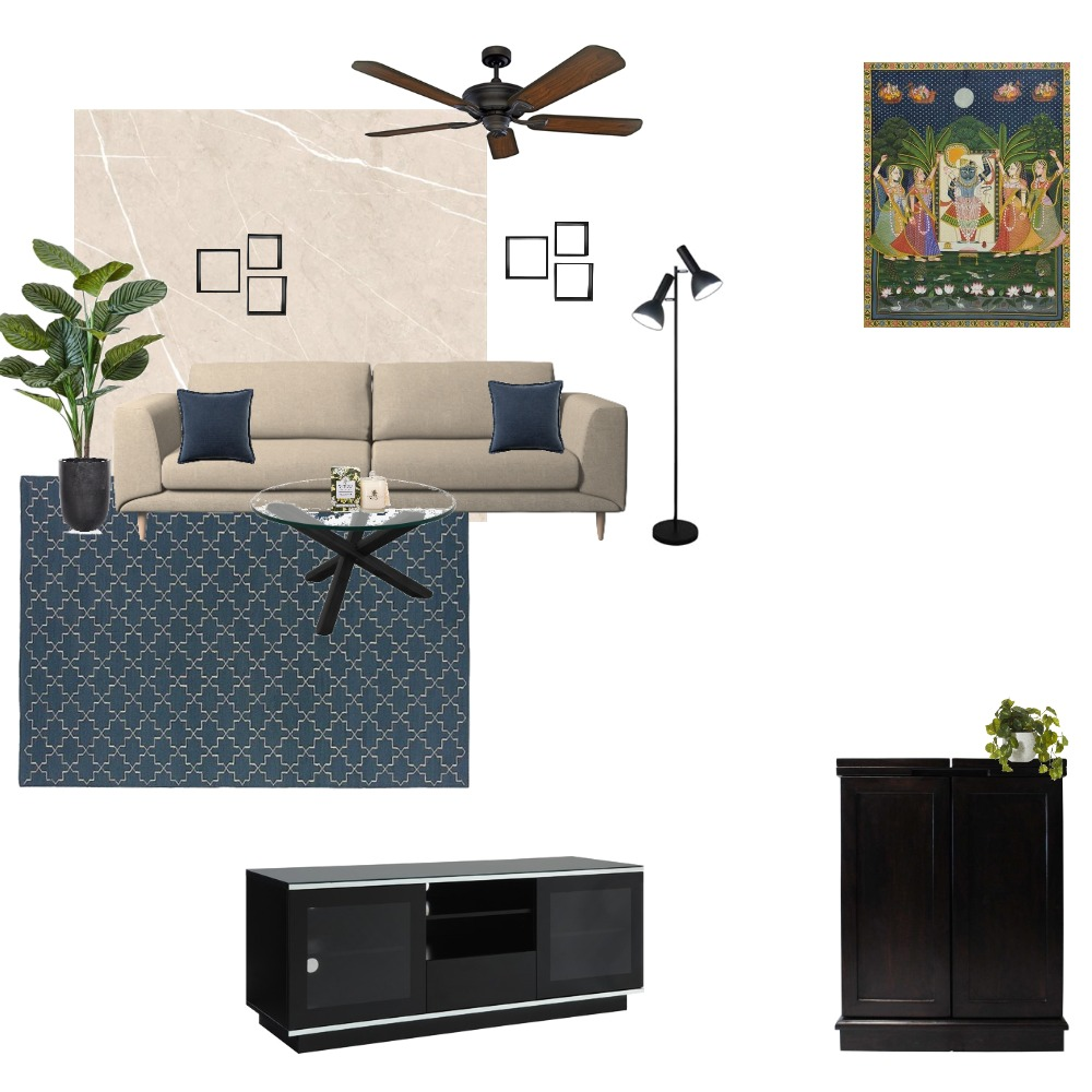 Living Room 2 Interior Design Mood Board by dharitri14 on Style Sourcebook
