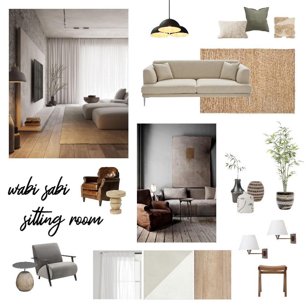 wabi sabi sitting room Interior Design Mood Board by Josh Rivera on Style Sourcebook