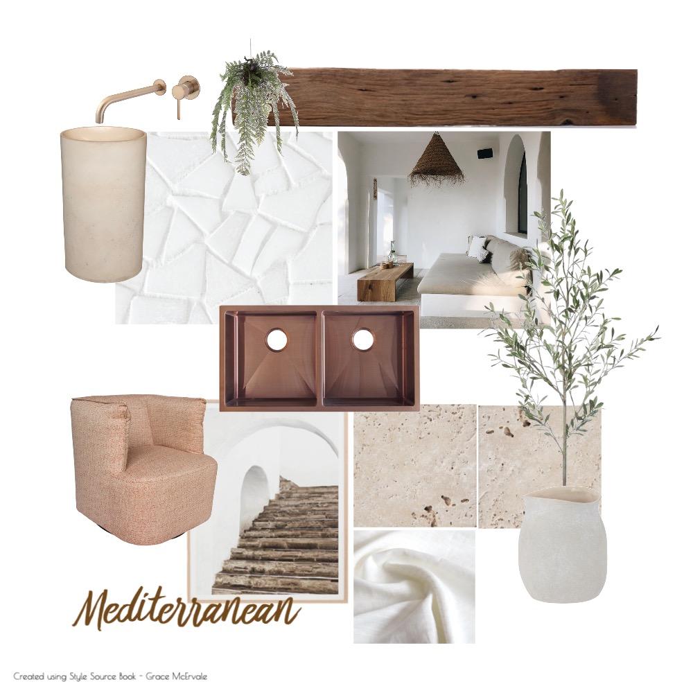 Mediterranean Mood Board Interior Design Mood Board by gracemcervale on Style Sourcebook