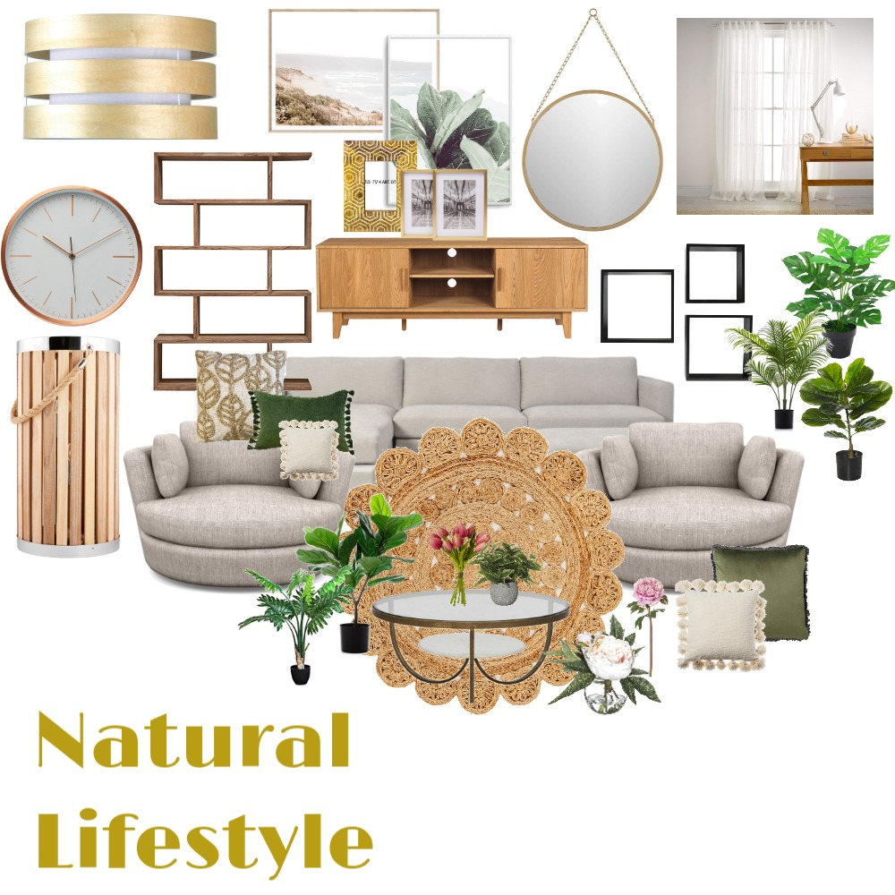 natural living Interior Design Mood Board by naomidesigns on Style Sourcebook
