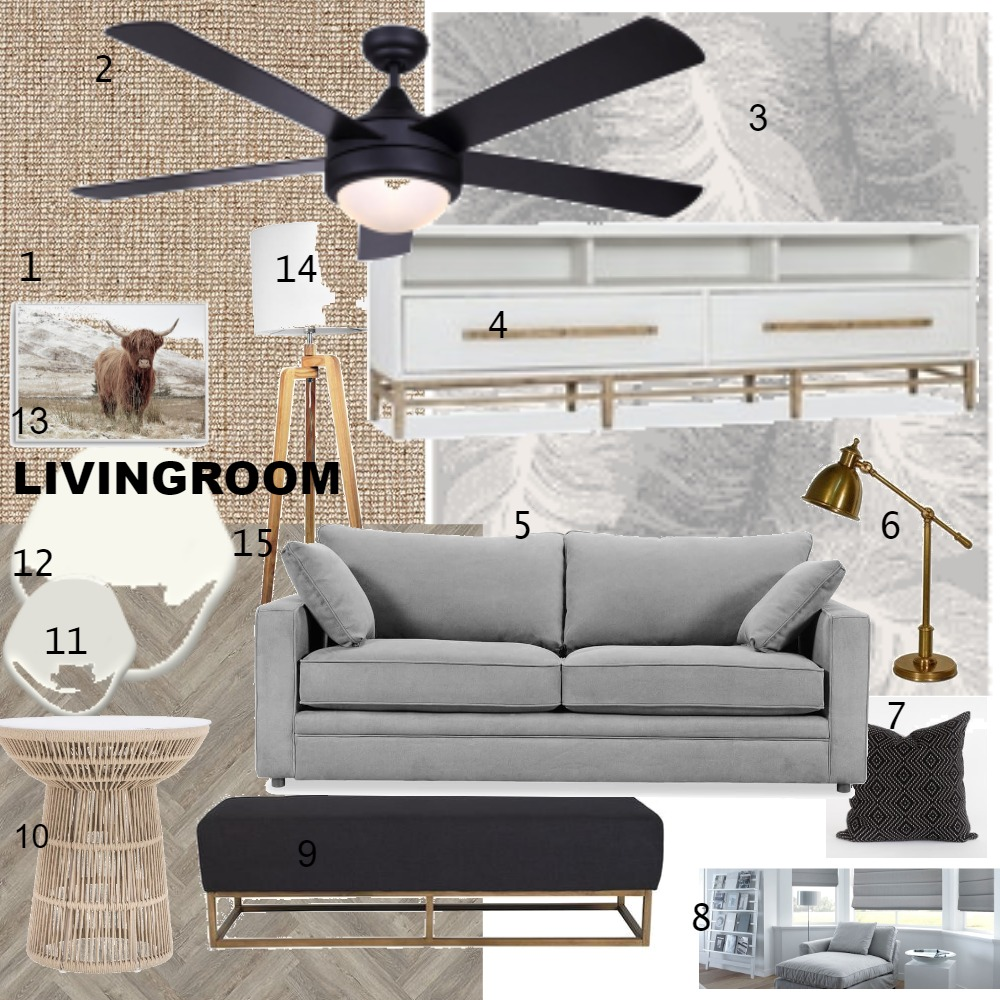 livingroom Interior Design Mood Board by candacereidt on Style Sourcebook