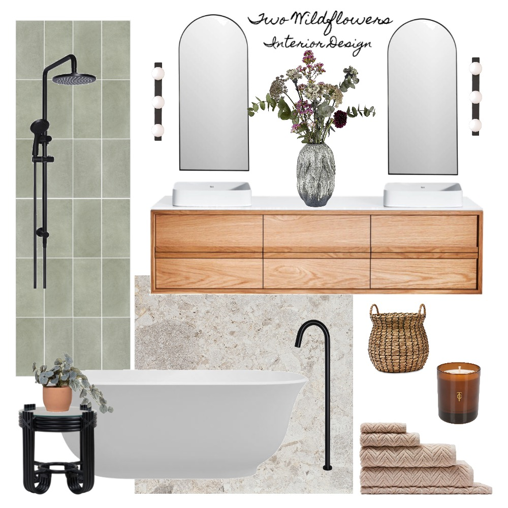 Materia Interior Design Mood Board by Two Wildflowers on Style Sourcebook