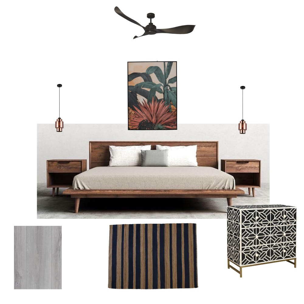 Bedroom Interior Design Mood Board by frew on Style Sourcebook