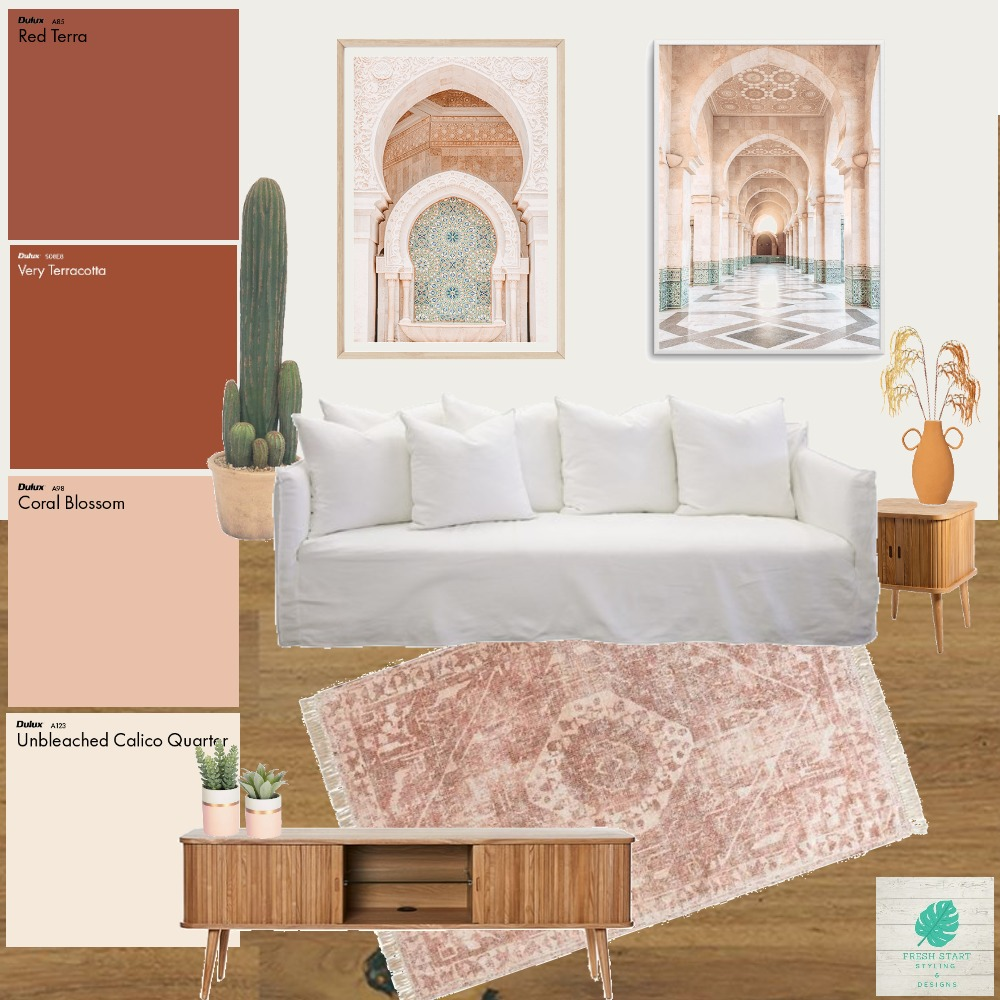 Moroccan Style Interior Design Mood Board by Fresh Start Styling & Designs on Style Sourcebook