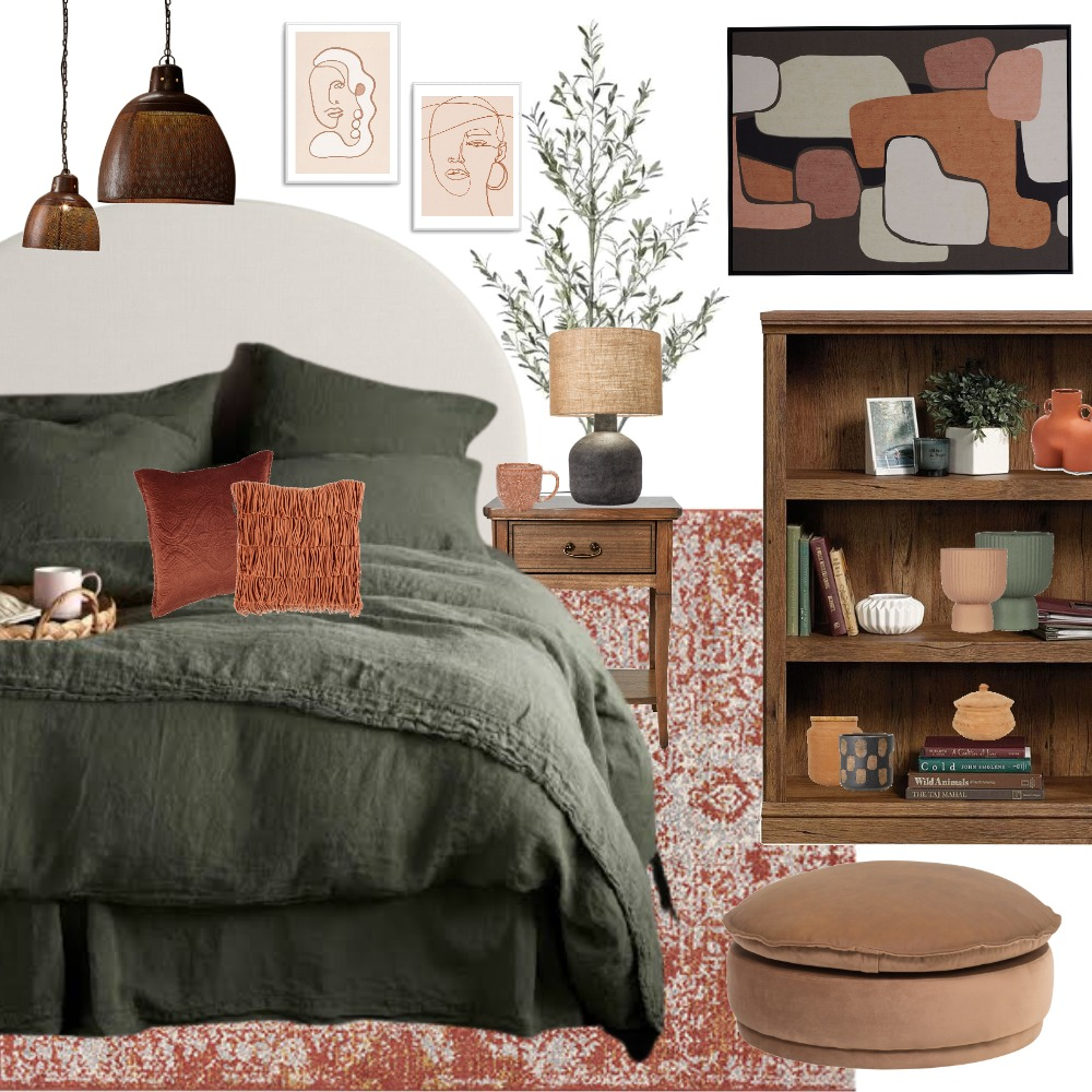 eclectic Interior Design Mood Board by Thediydecorator on Style Sourcebook