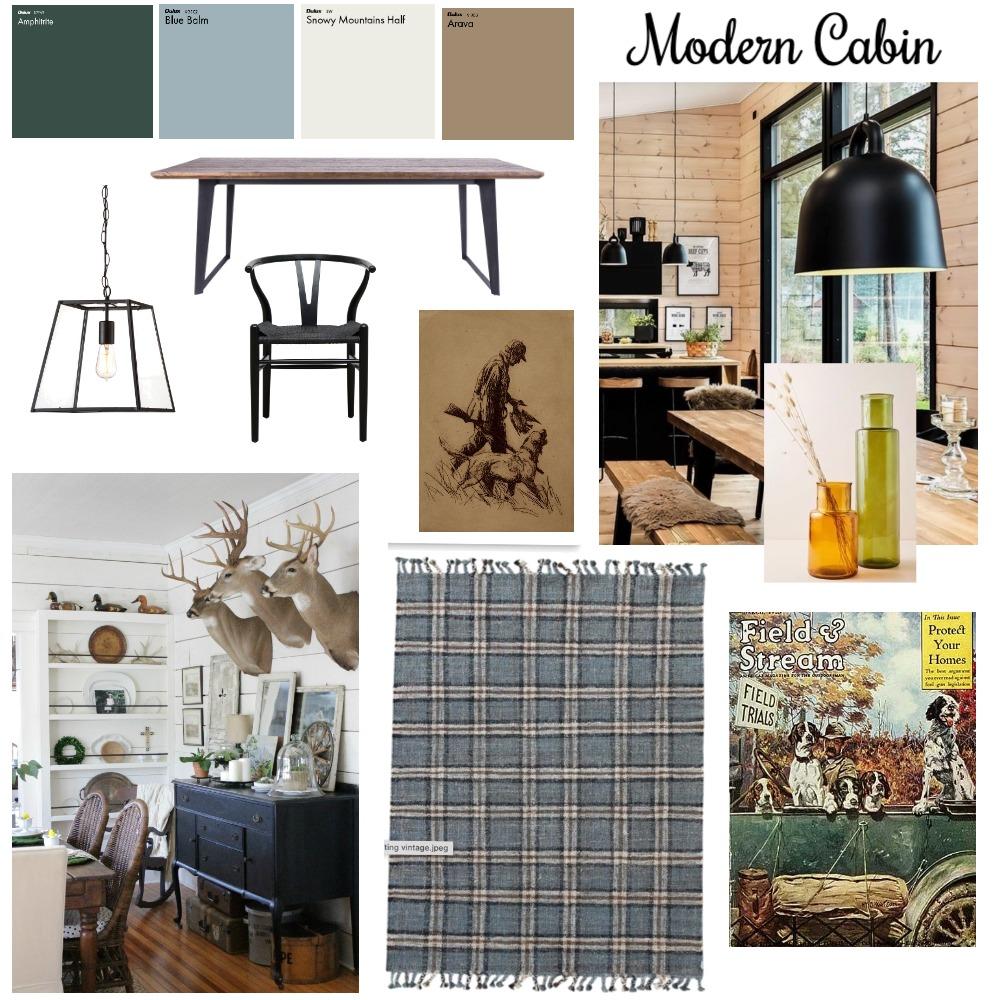 Modern Cabin Interior Design Mood Board by rlove on Style Sourcebook