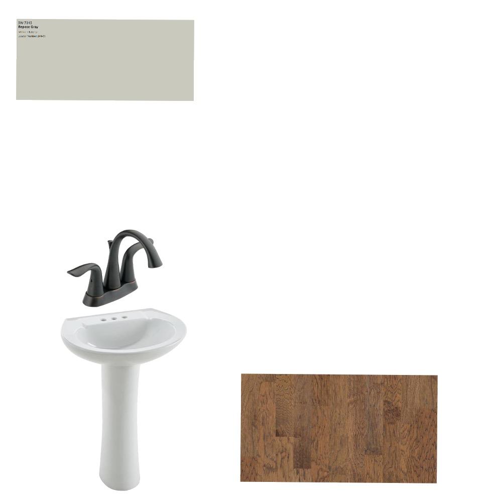 Powder Room Interior Design Mood Board by FletcherFarmhouse21 on Style Sourcebook