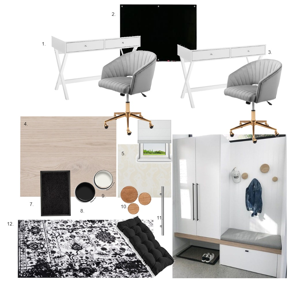 wetroom/study Interior Design Mood Board by lisaclaire on Style Sourcebook