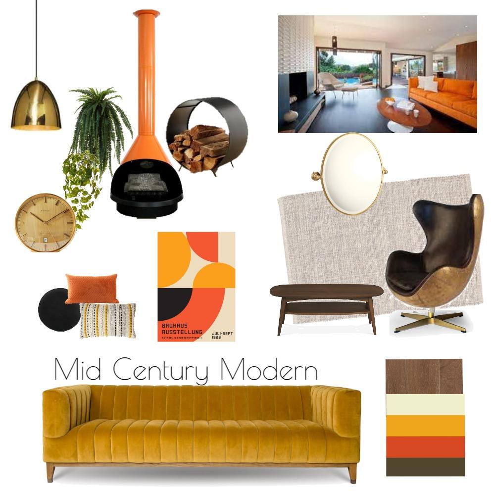 Mid Century Modern Interior Design Mood Board by Corrine Dixon on Style Sourcebook