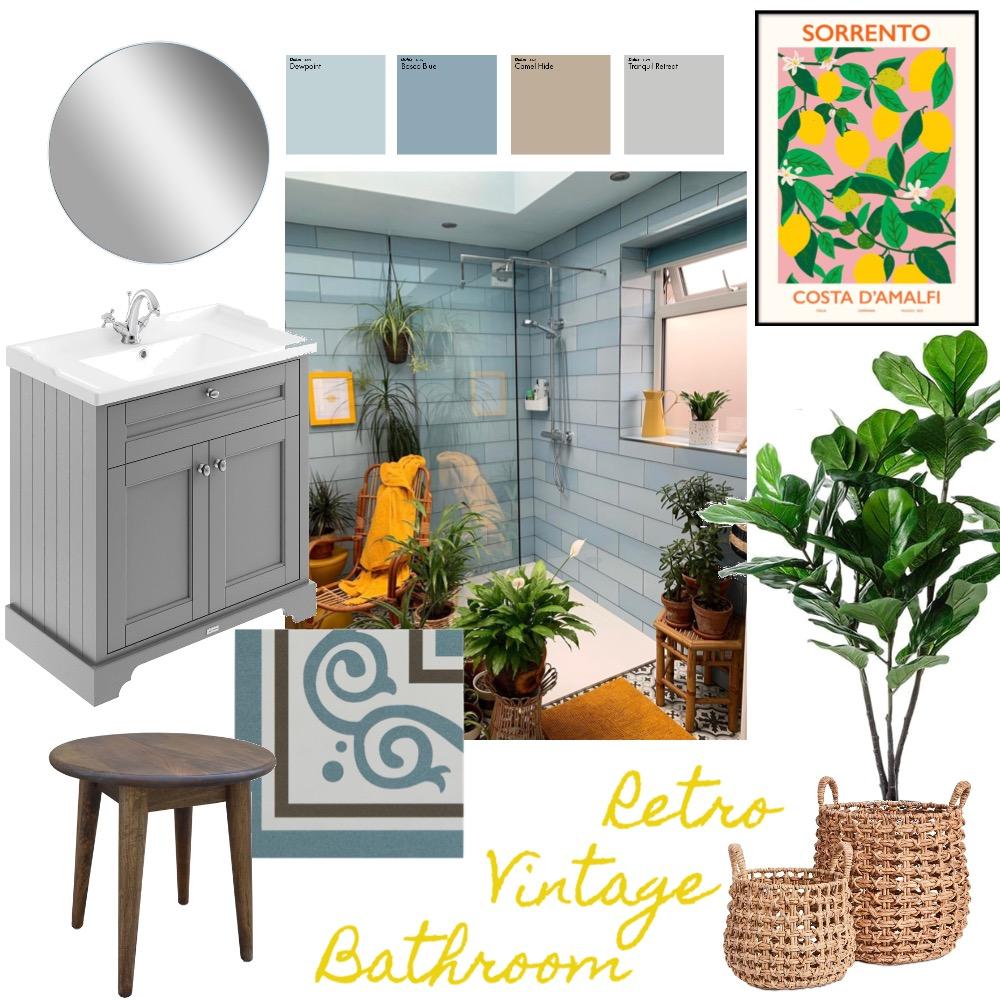 Bathroom - retro/vintage Interior Design Mood Board by Daria Pea on Style Sourcebook