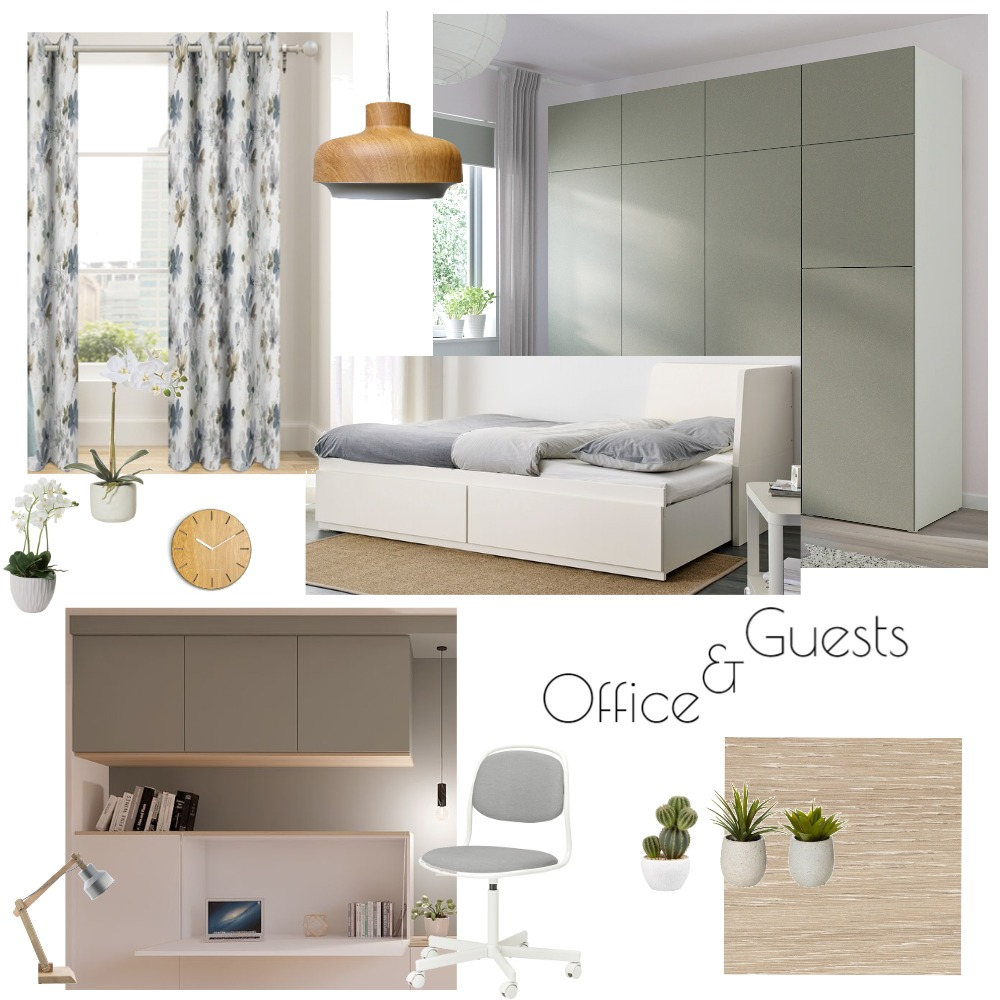 Office and Guest room Interior Design Mood Board by Iva2011 on Style Sourcebook