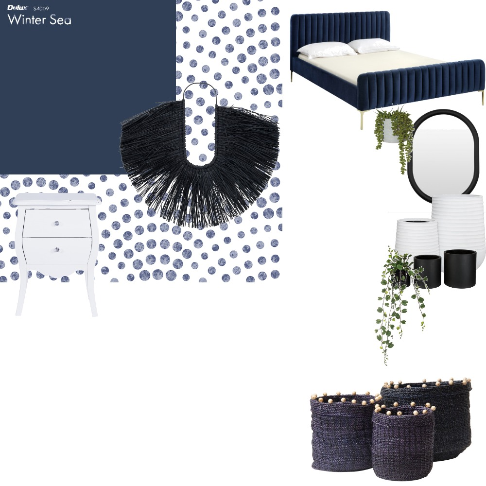 Feeling Blue Interior Design Mood Board by jademorin788 on Style Sourcebook