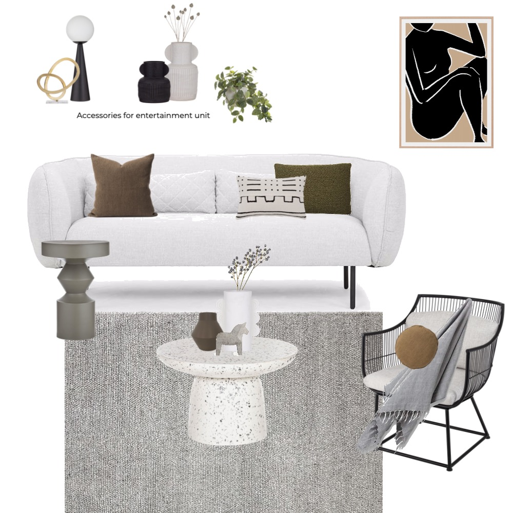 Aroma Apartment 1 - Living Interior Design Mood Board by Sophie Scarlett Design on Style Sourcebook