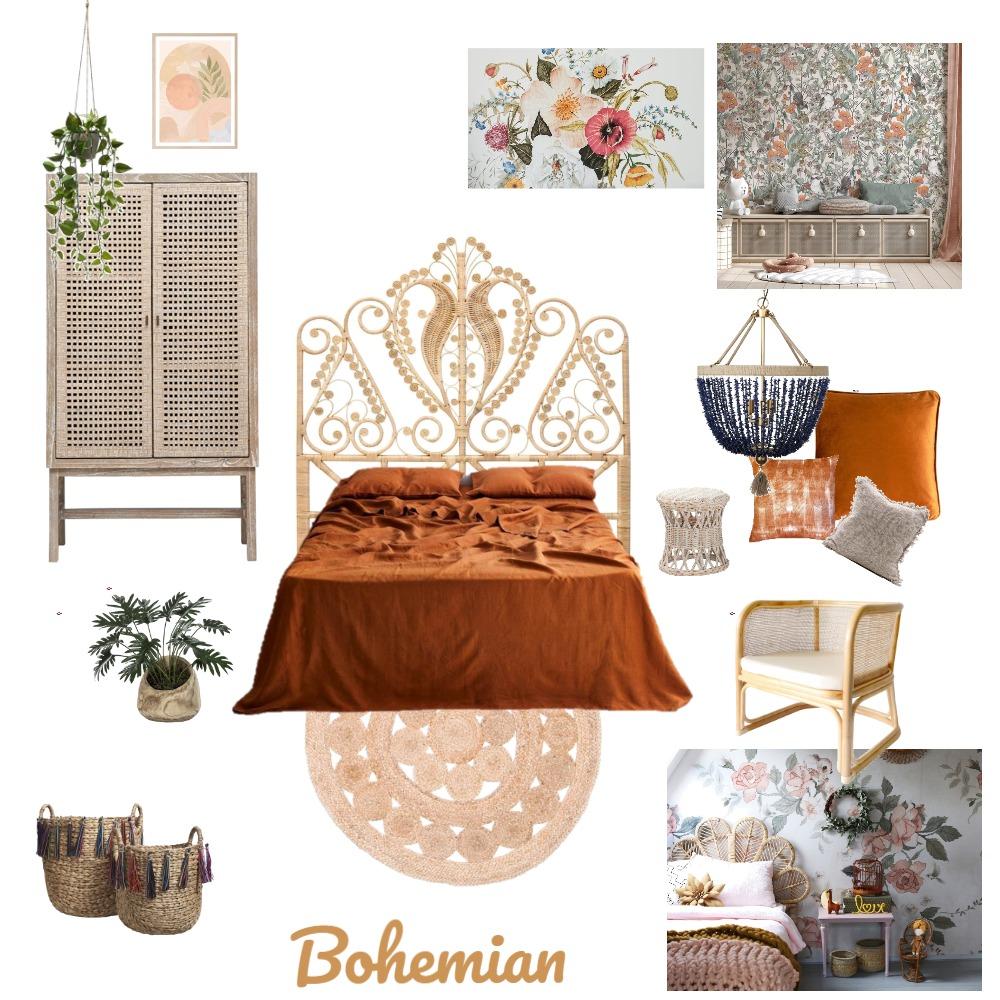 Bohemien Interior Design Mood Board by Michelle Boyd on Style Sourcebook
