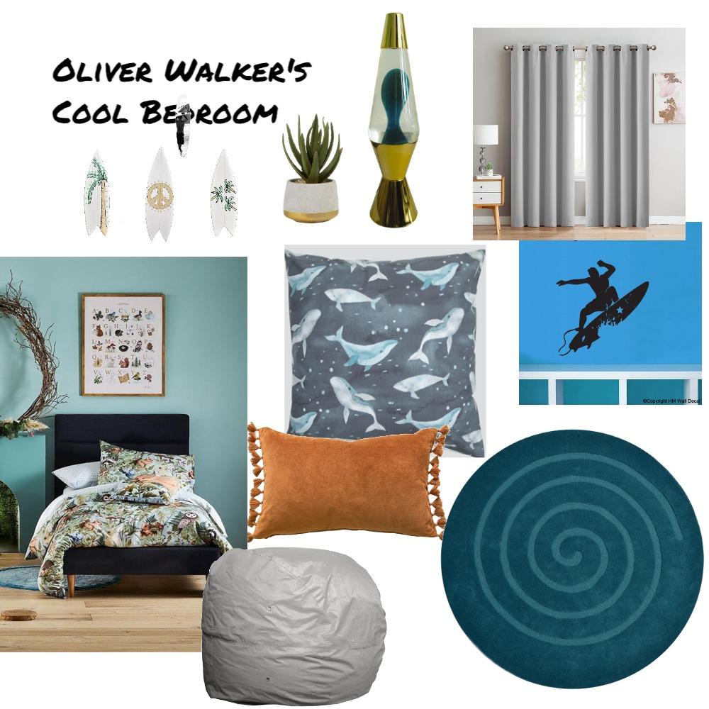 Oliver Walker Bedroom Interior Design Mood Board by Jo Sievwright on Style Sourcebook
