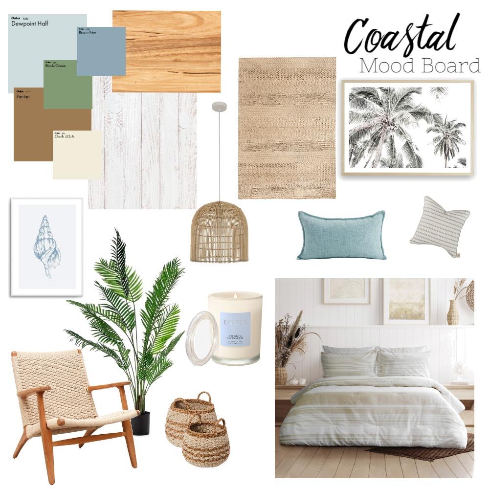 Coastal Bedroom Interior Design Mood Board by jessicasummers on Style Sourcebook