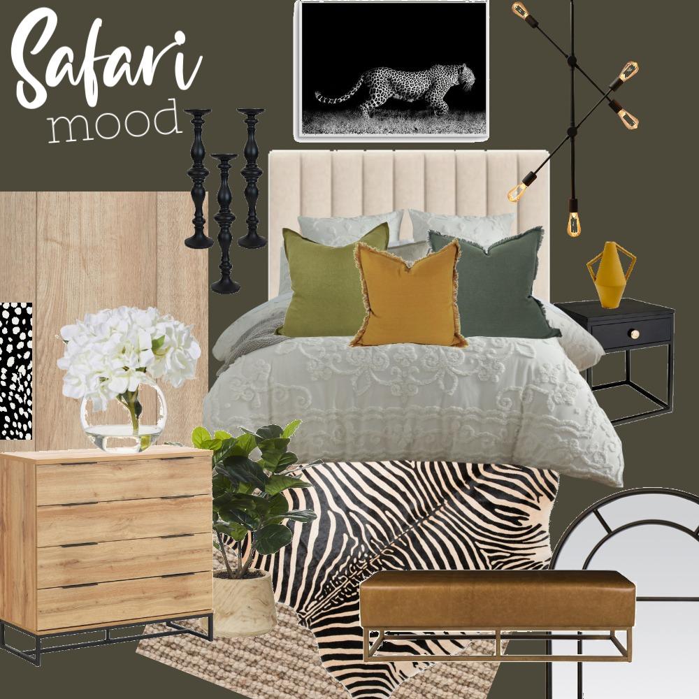 safari bedroom Interior Design Mood Board by jcrobles on Style Sourcebook
