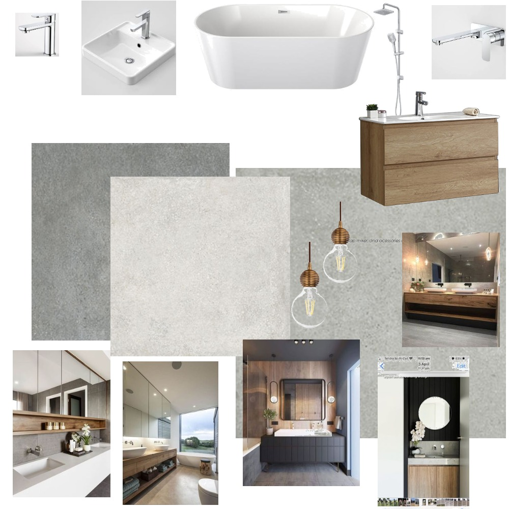 bathroom Interior Design Mood Board by cill on Style Sourcebook