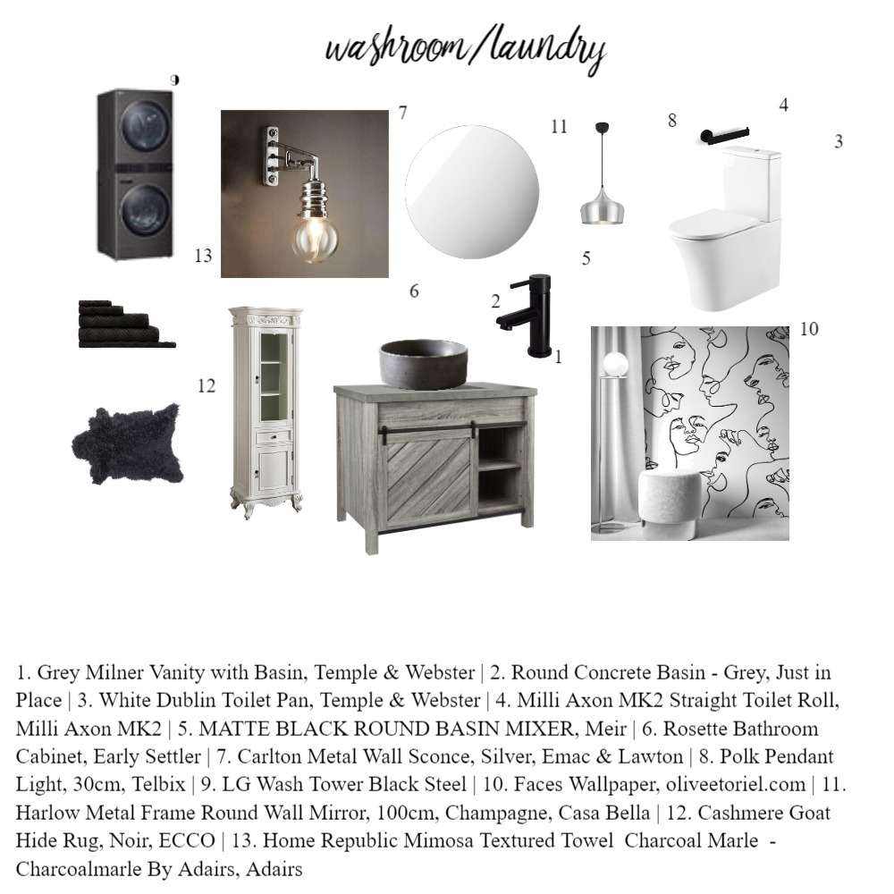 Module Nine Interior Design Mood Board by 33 Pears on Style Sourcebook