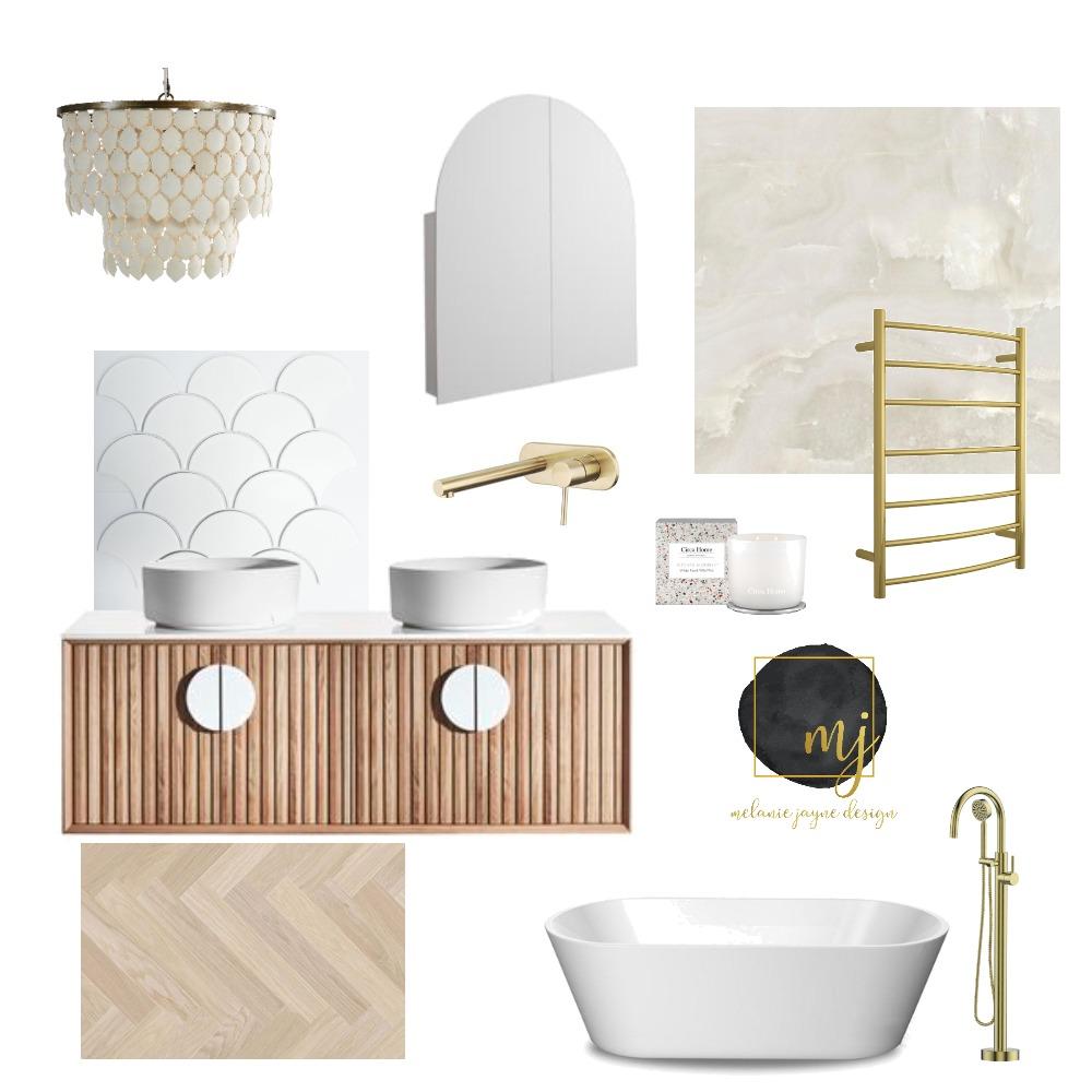 Bathroom Interior Design Mood Board by Melaniejaynedesign on Style Sourcebook