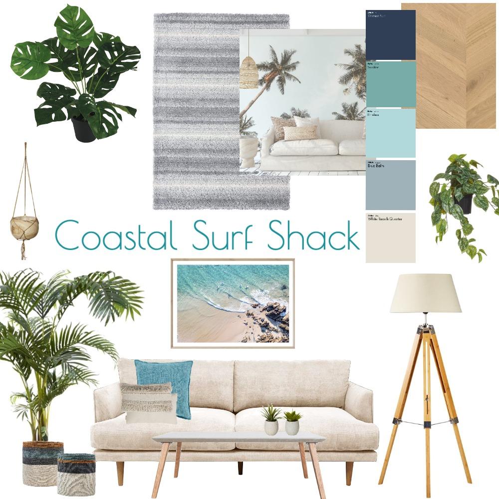 Coastal Surf Shack Interior Design Mood Board by Greenwave by CJ on Style Sourcebook