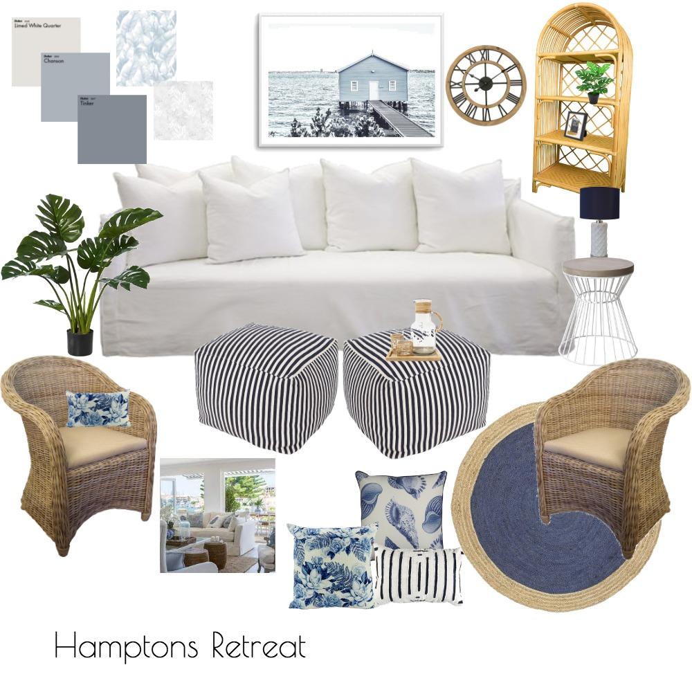 Hamptons Retreat Interior Design Mood Board by julmacauley on Style Sourcebook