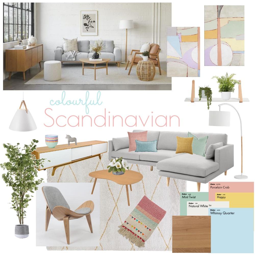 Scandinavian Living Interior Design Mood Board by EmmaLeh on Style Sourcebook