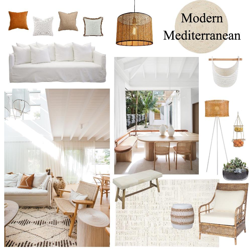 Modern Mediterranean Interior Design Mood Board by Ciara Kelly on Style Sourcebook