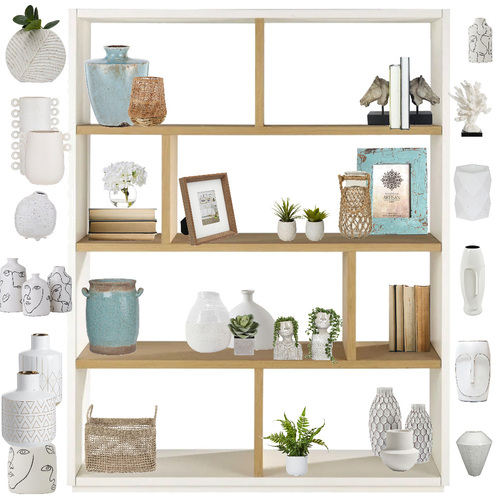 BOOK SHELVE Interior Design Mood Board by Luciabau on Style Sourcebook
