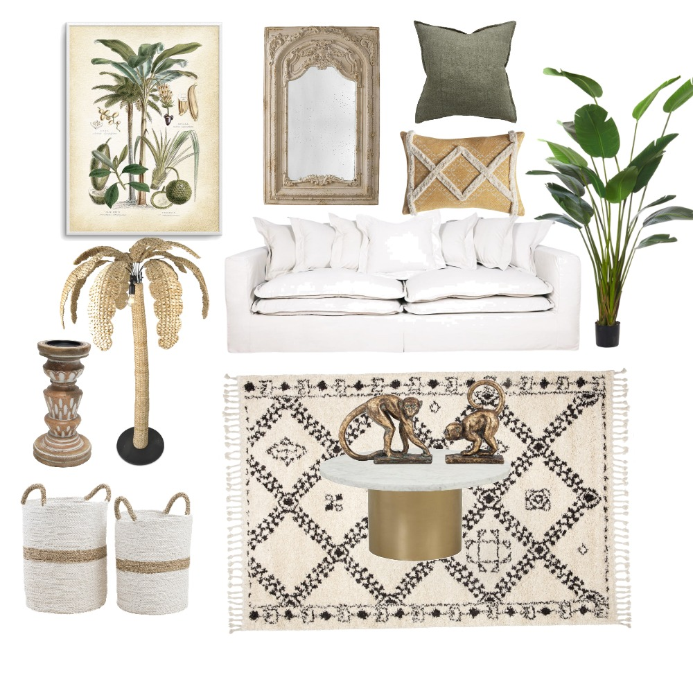 Relaxed living room - Moroccan touches Interior Design Mood Board by Rooleyes on Style Sourcebook