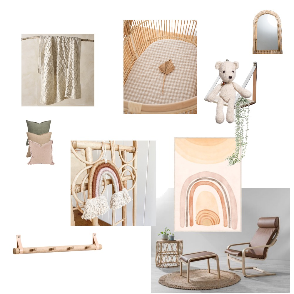 Nicole nursery #2 Interior Design Mood Board by Simplestyling on Style Sourcebook