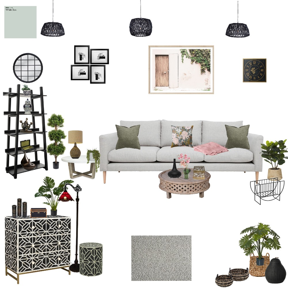Lounge Room Interior Design Mood Board by Janina on Style Sourcebook