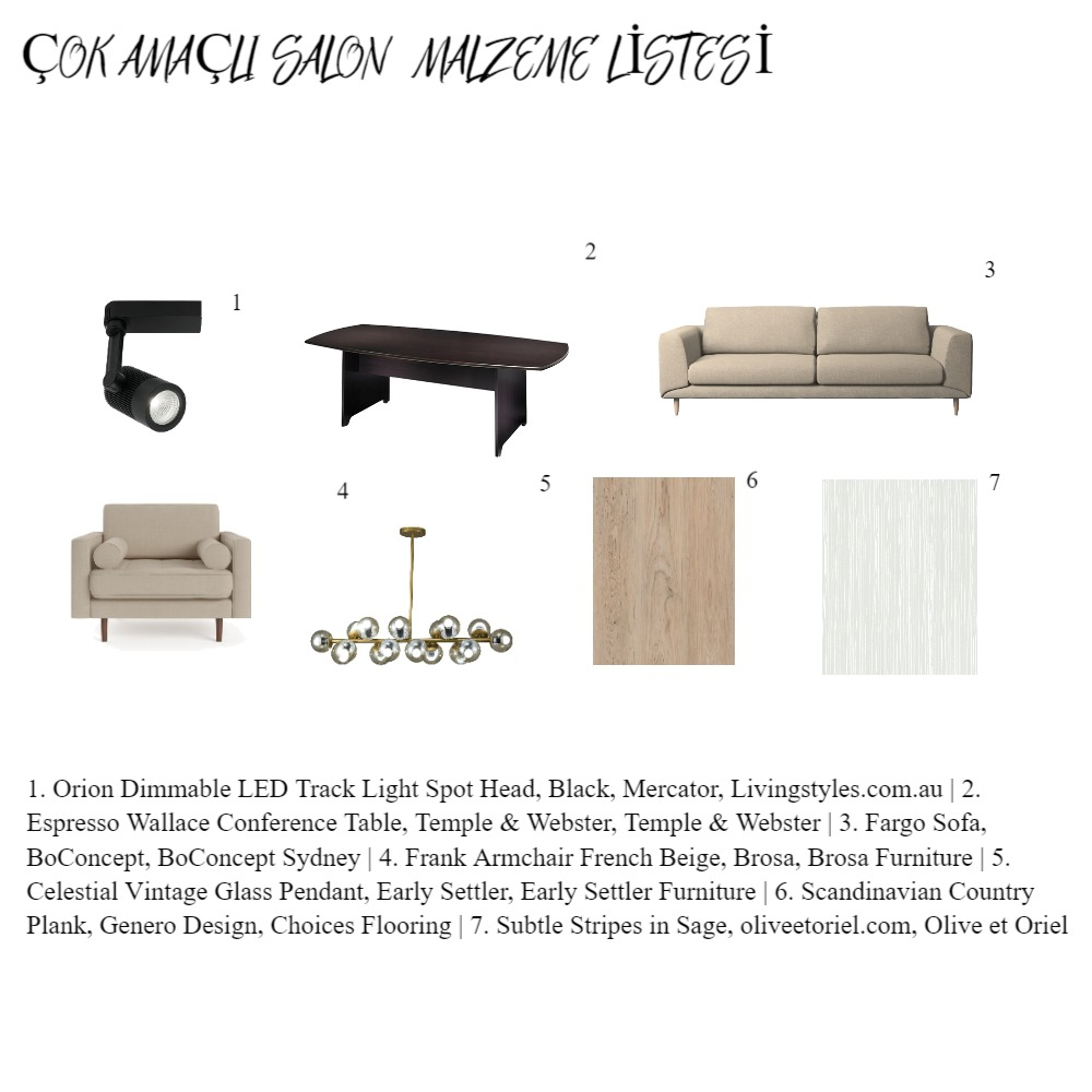 GİRİŞ MALZEME Interior Design Mood Board by EDA on Style Sourcebook