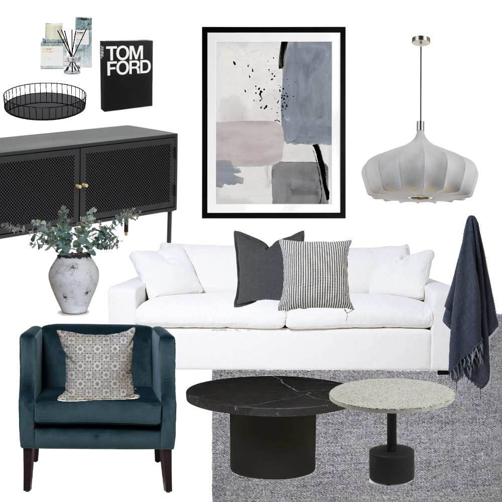 Shades of Grey Interior Design Mood Board by Kyra Smith on Style Sourcebook