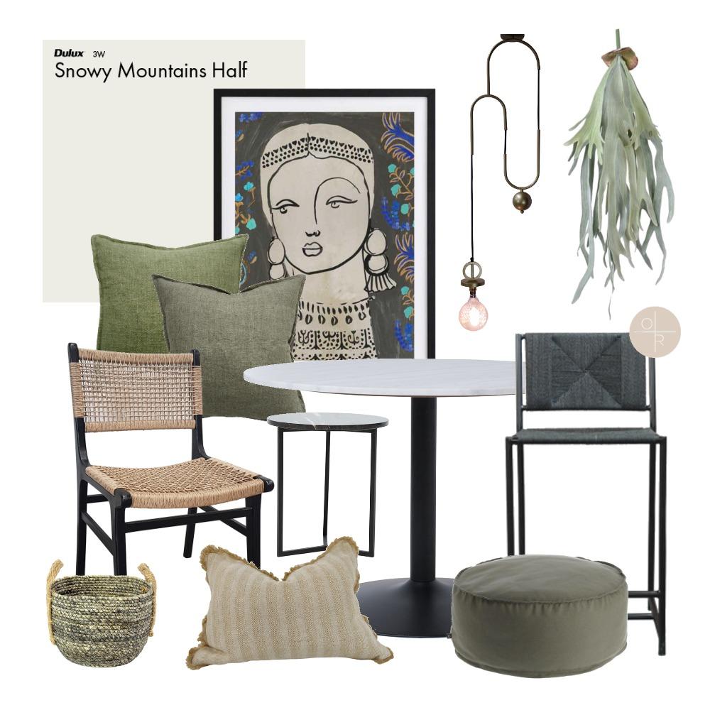 Sage Green Interior Design Mood Board by OAK + RIDGE INTERIOR DESIGN on Style Sourcebook