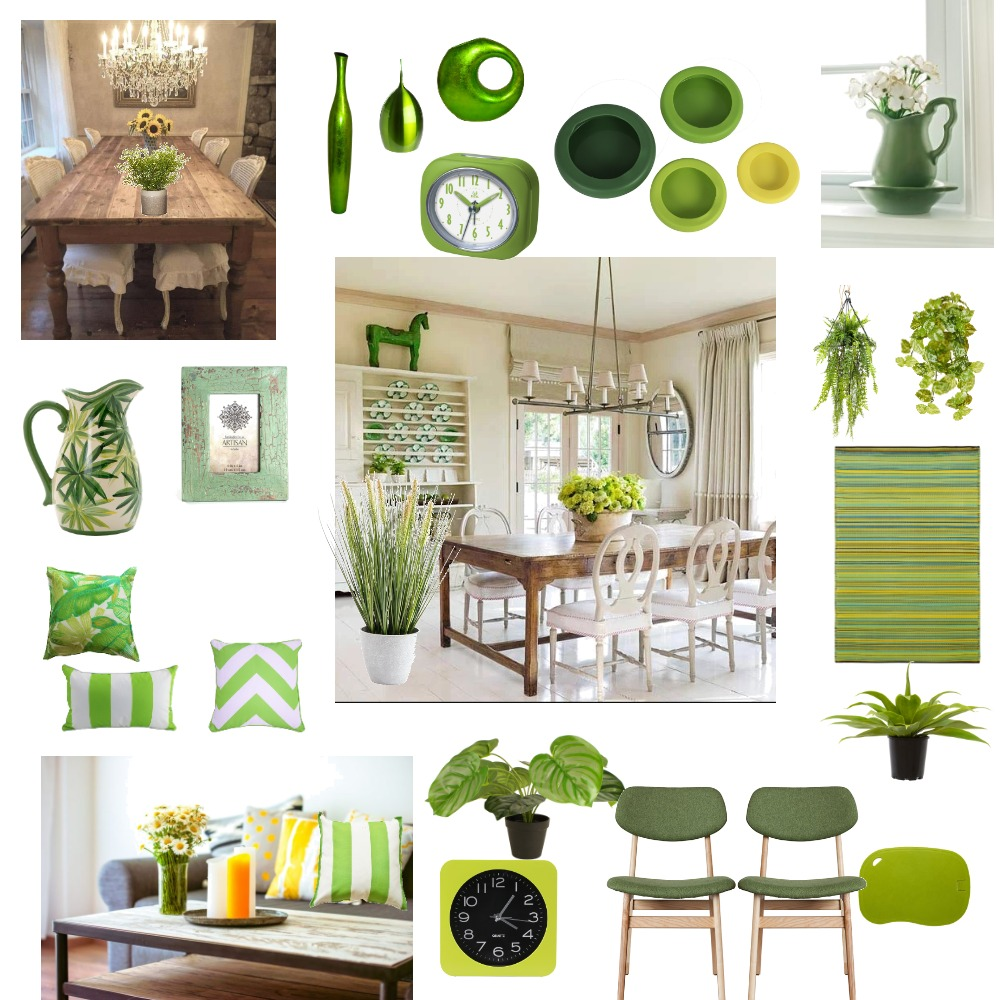 Country style with green theme Interior Design Mood Board by Giang Nguyen on Style Sourcebook