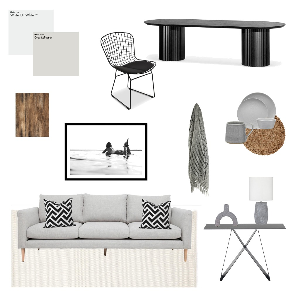 Shades of Grey Interior Design Mood Board by Elizabeth Davis on Style Sourcebook