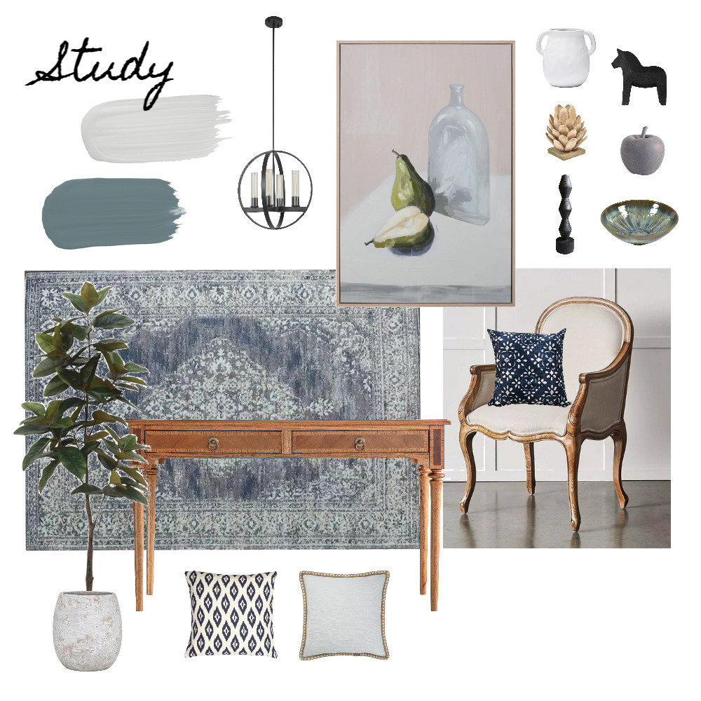 Imrie - Study 2.0 Interior Design Mood Board by Abbye Louise on Style Sourcebook