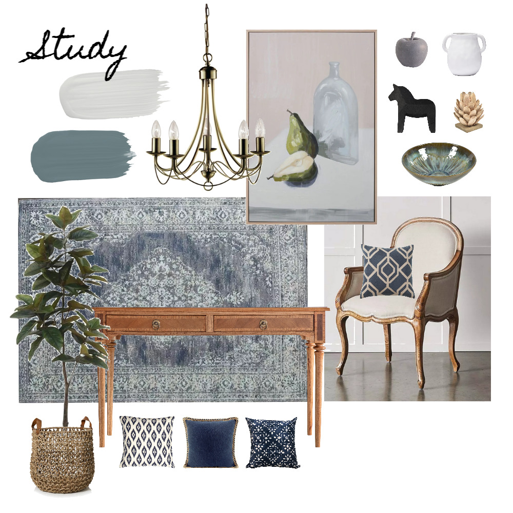 Imrie - Study 3.0 Interior Design Mood Board by Abbye Louise on Style Sourcebook