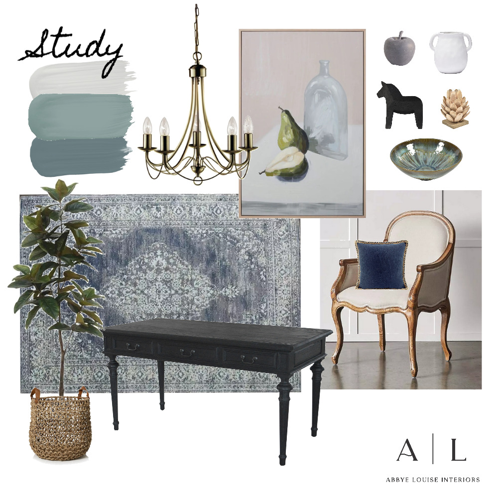 Imrie - Study 5.0 Interior Design Mood Board by Abbye Louise on Style Sourcebook