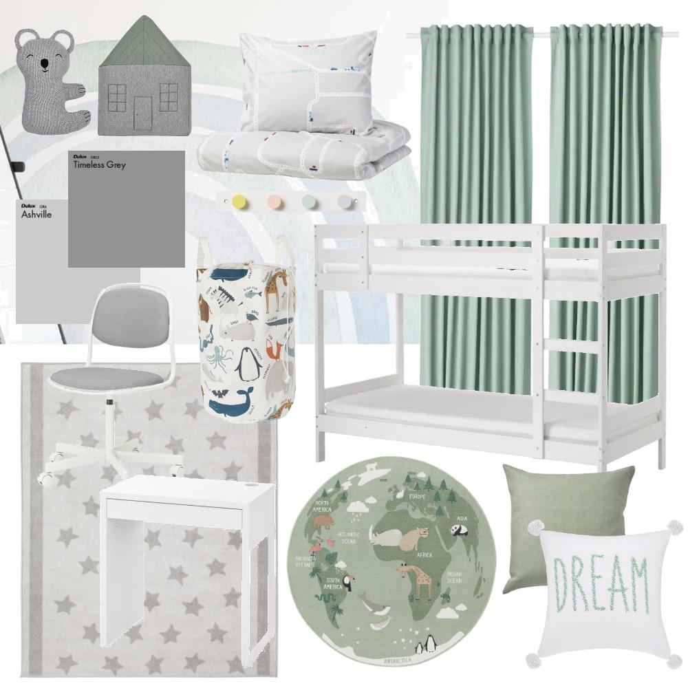 Boys Room Interior Design Mood Board by mimiekusya on Style Sourcebook
