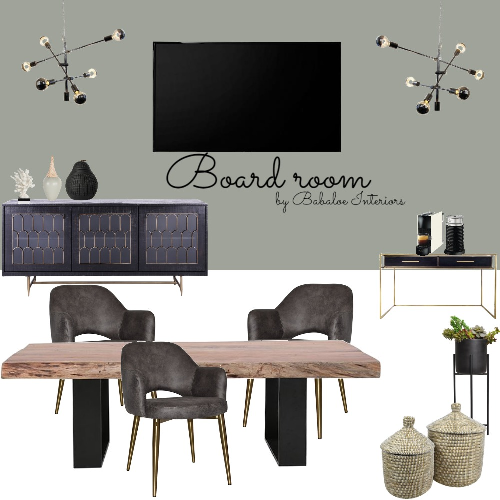 board room Interior Design Mood Board by Babaloe Interiors on Style Sourcebook