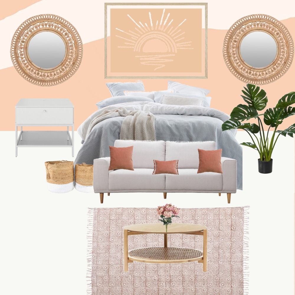 boho room Interior Design Mood Board by home101 on Style Sourcebook