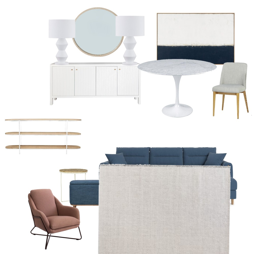 Saunders living room Interior Design Mood Board by Home By Jacinta on Style Sourcebook