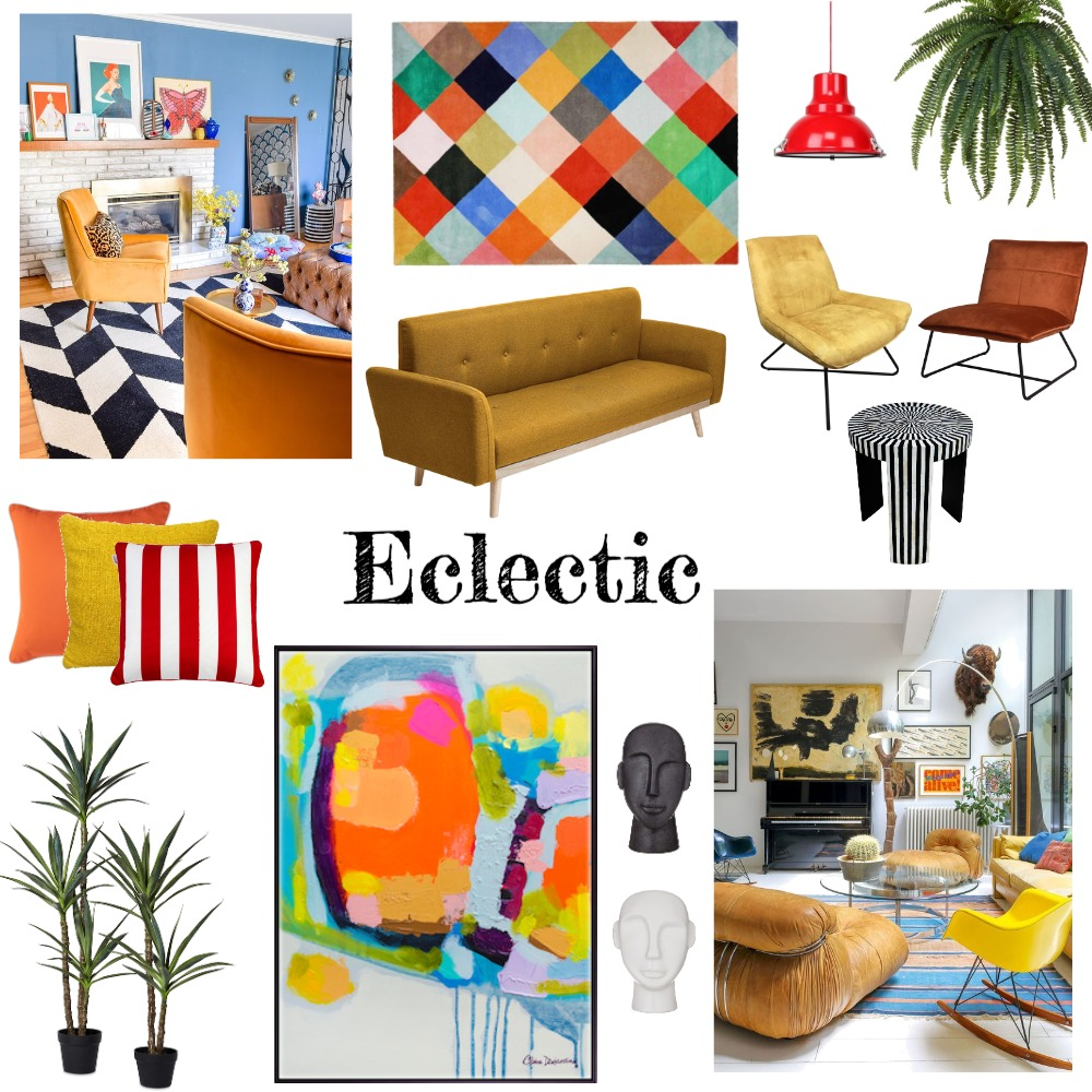 Eclectic Interior Design Mood Board by ReneeGatto Designs on Style Sourcebook