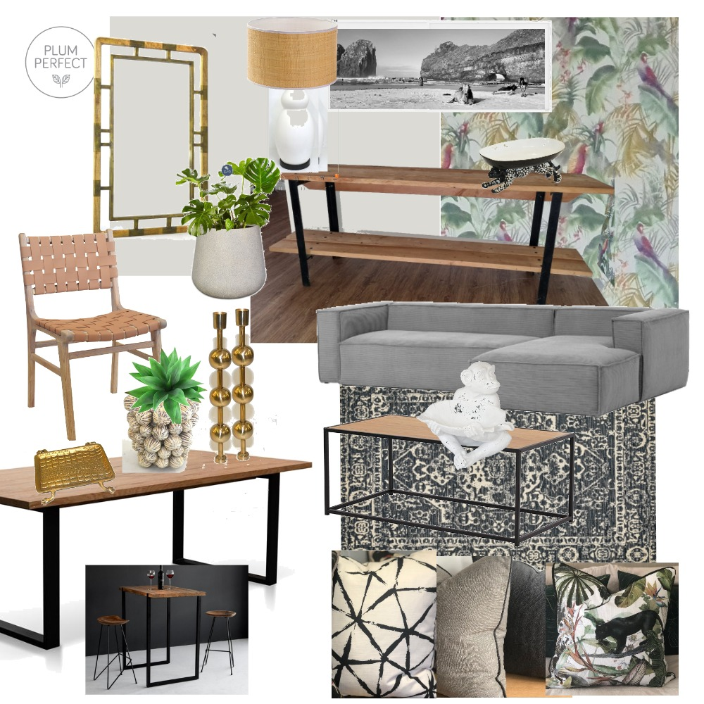House Dyer Living Room Option 1 Interior Design Mood Board by plumperfectinteriors on Style Sourcebook