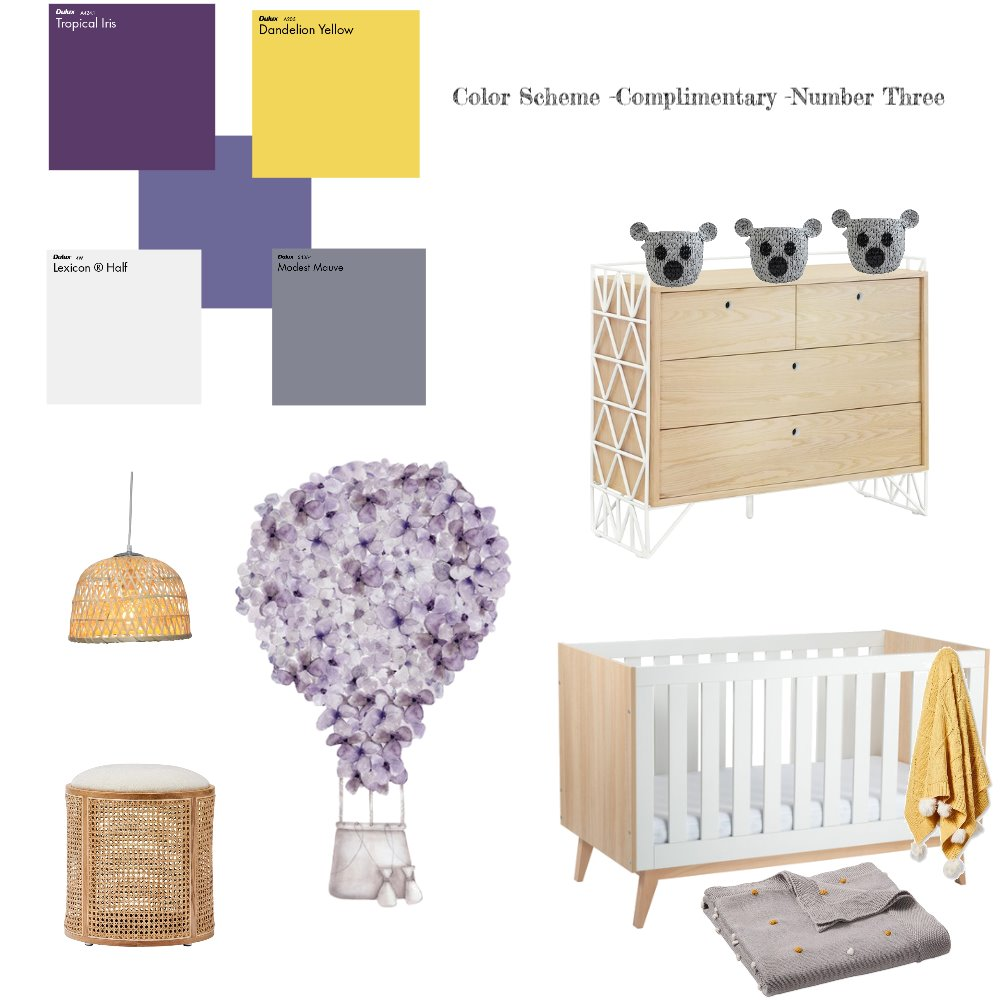 Color Scheme-Complimentary Number Three Interior Design Mood Board by zenic mujica on Style Sourcebook