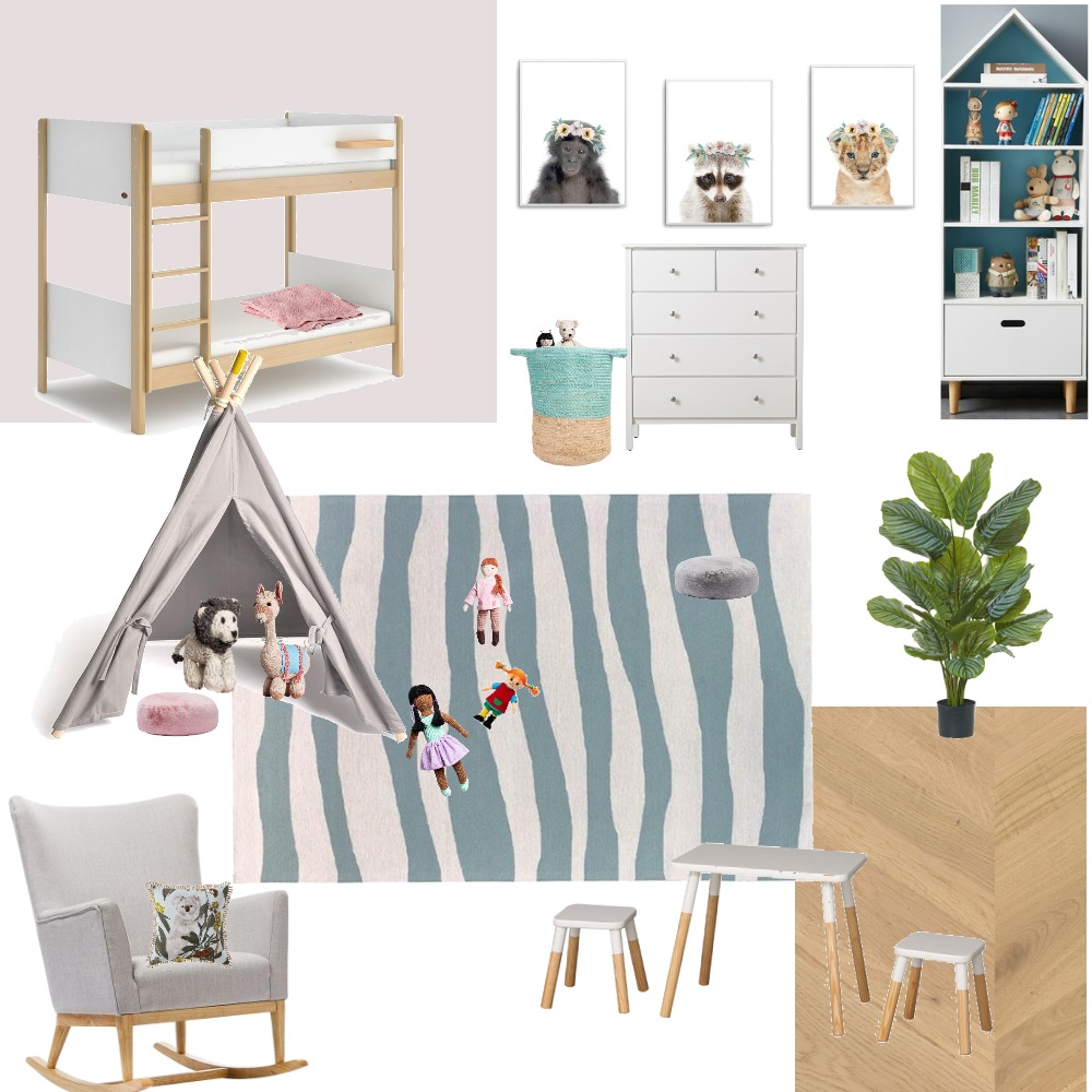 kidsroom Interior Design Mood Board by Tanja Eswein on Style Sourcebook